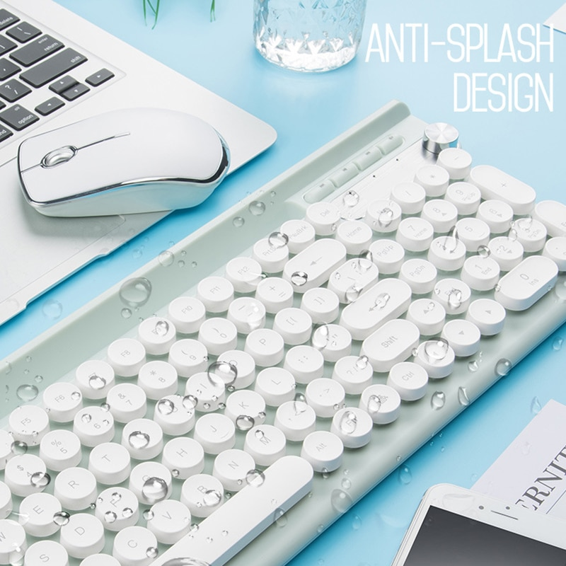Rechargeable USB Wireless Keyboard and Mouse
